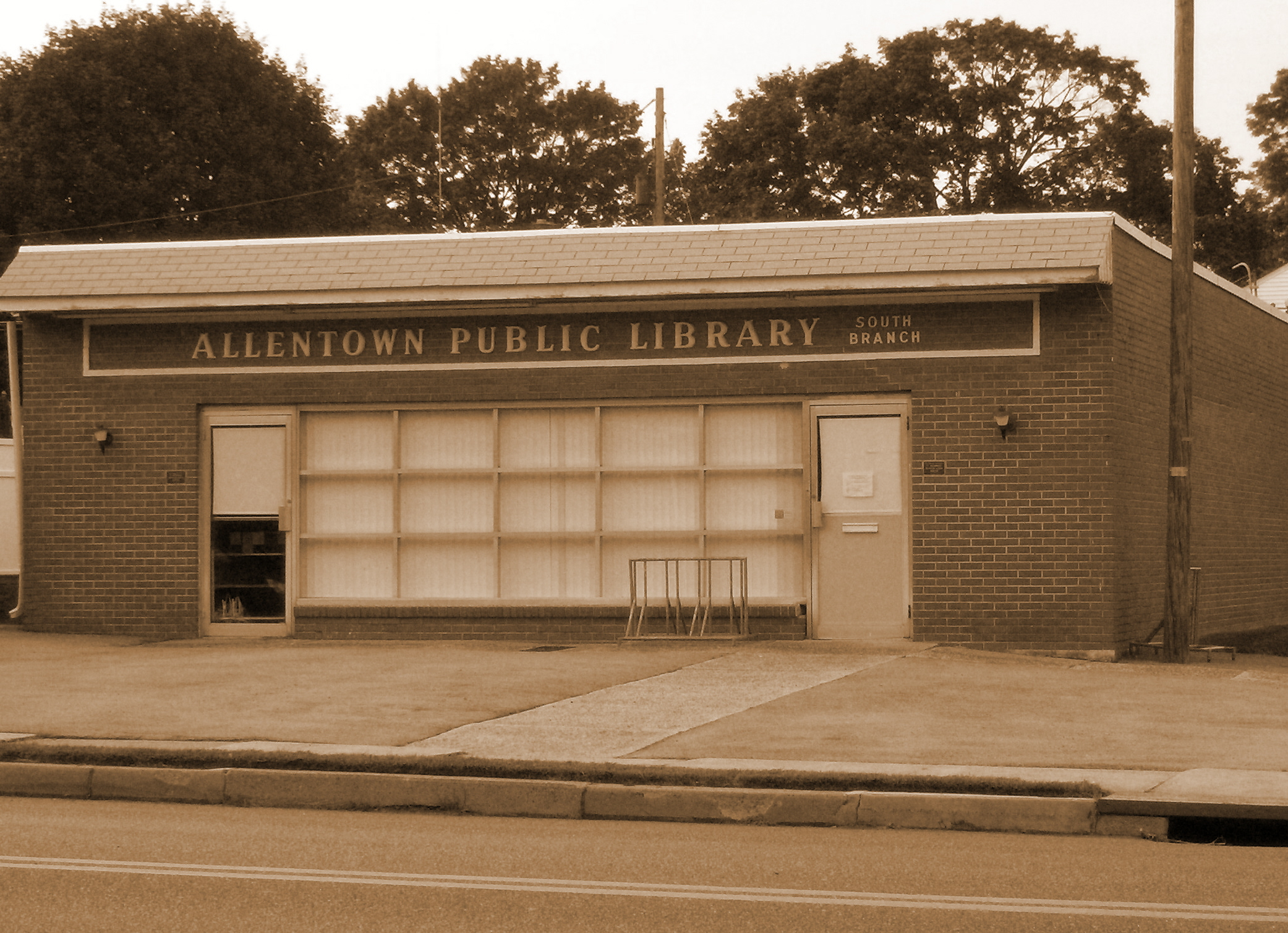 Allentown Public Library - South Branch, located at 6th St & W. Emaus Ave, Allentown, PA